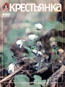 Крестьянка 1985 №04