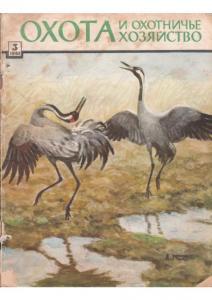 Охота и охотничье хозяйство 1962 №03