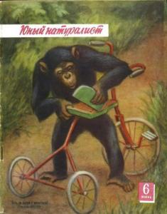 Юный натуралист 1957 №06