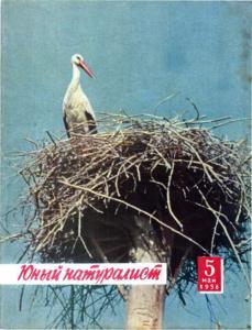 Юный натуралист 1958 №05