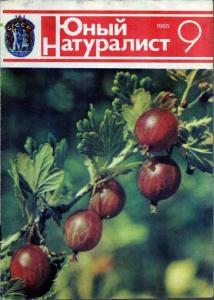 Юный натуралист 1985 №09