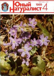 Юный натуралист 1989 №04
