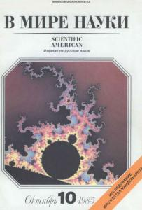 В мире науки 1985 №10